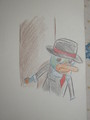 Perry-agente P - agent-p fan art