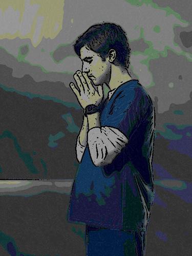 Peter Petrelli as a cartoon