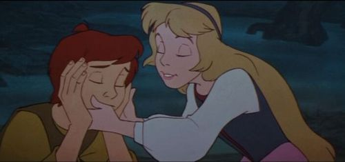 Disney Couples پیپر وال containing عملی حکمت titled Princess Eilonwy and Taran