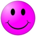 Purple Smiley Icon