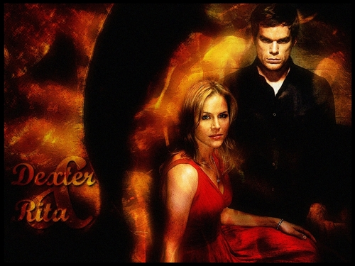 Rita and Dexter  - dexter Wallpaper