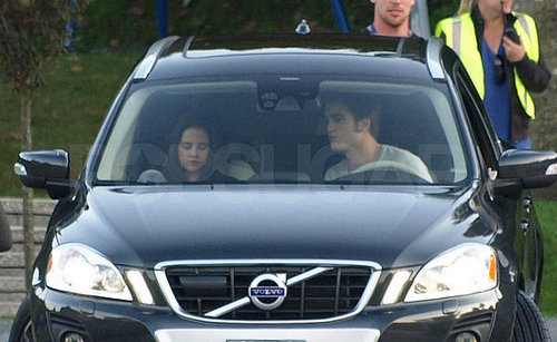 Rob and Kristen on Eclipse Set