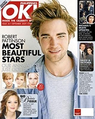 Rob covers OK! Philippines