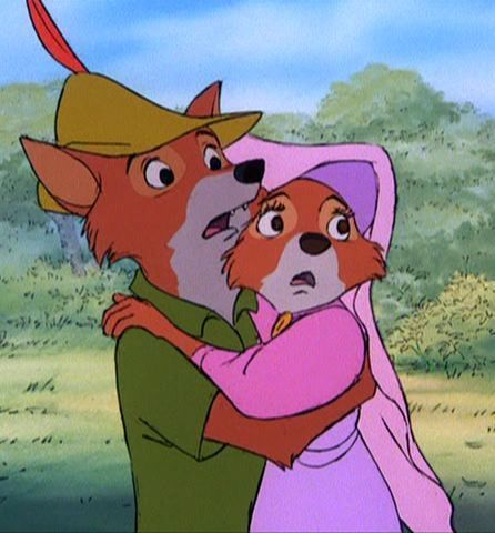 Robin Hood And Maid Marian