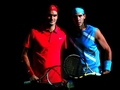 Roger and Rafael - roger-federer-and-rafael-nadal wallpaper