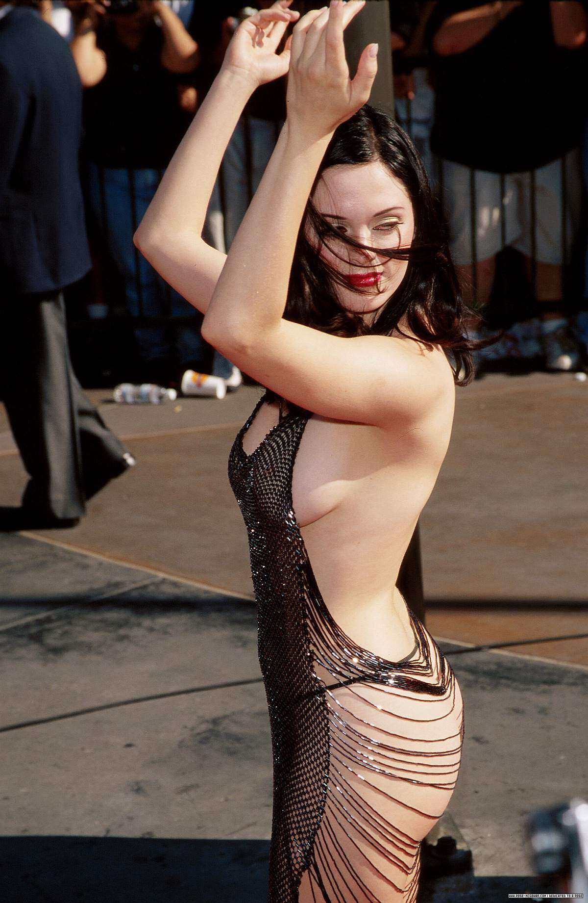 Rose at 1998 mtv música Awards