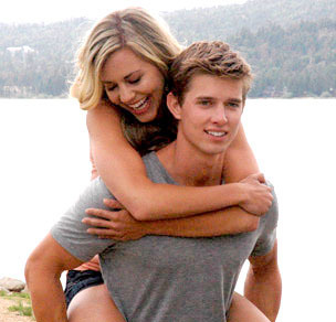Samantha and Drew furgone, van Acker