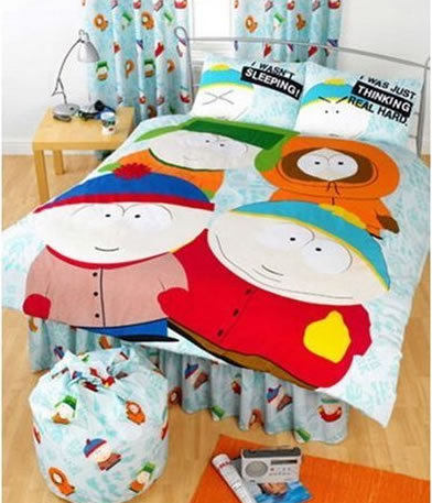 Some person's awesome South Park bedroom!