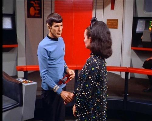 Spock and Miranda Jones