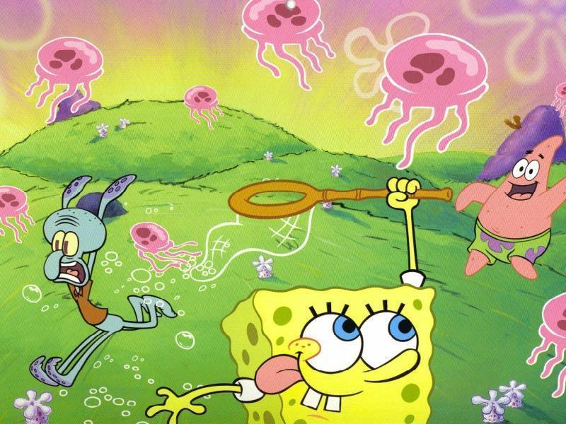 spongebob squarepants desktop wallpaper. Labels: wallpaper spongebob