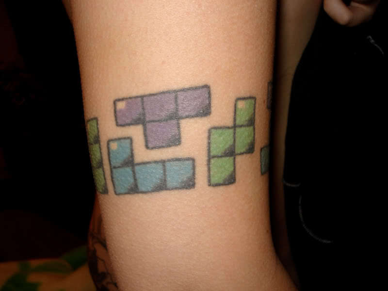 Tetris Tattoos Photo 8266372 Fanpop