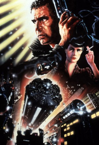 Blade Runner wallpaper with anime titled Textless Poster