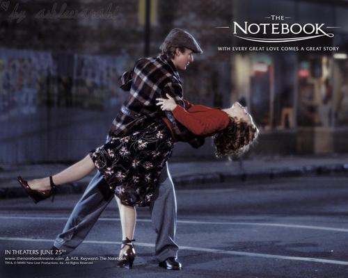 The Notebook mitaani, mtaa Dance