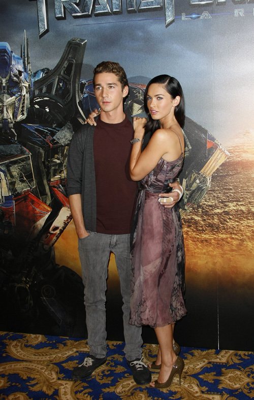 shia labeouf and megan fox transformers 2. Transformers: Revenge of the