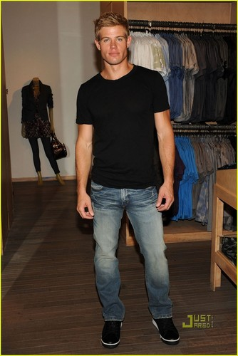 Trevor Donovan wallpaper probably with a pantleg called Trevor Donovan's shopping spree at A|X