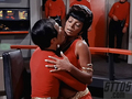Uhura and Sulu in ''Mirror mirror''