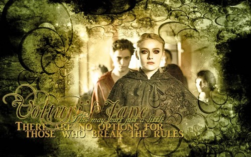 The Volturi wallpaper probably with a street, a sign, and a brownstone titled Volturi's Jane