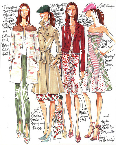 Fashion design for teenagers