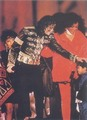 We Are The World 10Th Anniversary - michael-jackson photo