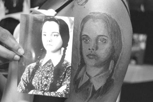 Wednesday Tattoo