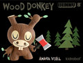 Wood Donkey Dunny - vinyl-toys photo