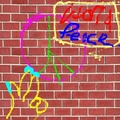 World Peace Graffiti-even they are fighting back