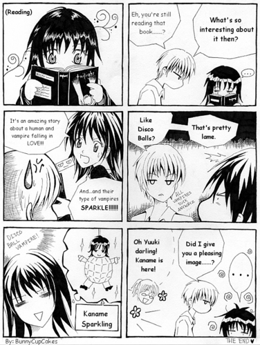 Yuuki reads TWILIGHT