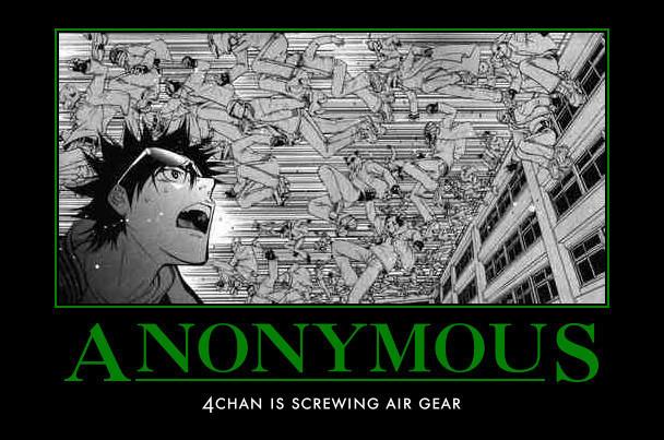 air gear motivational poster