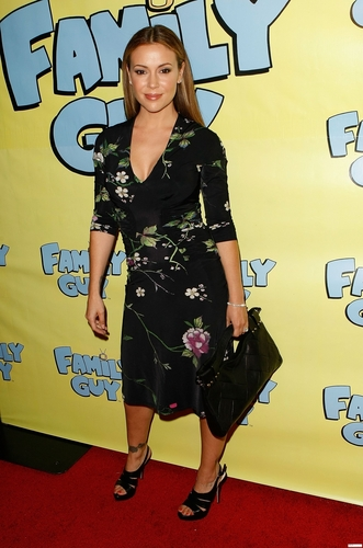 alyssa-Seth MacFarlane and Night Vision Entertainment Host Family Guy's Pre-Emmy Celebration