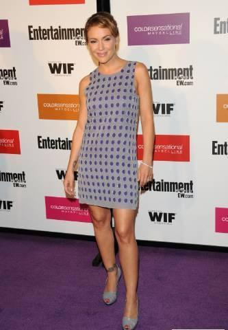 alyssa milano-EW and Women in Film pre-Emmy Party