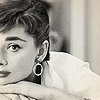 Audrey Hepburn photo containing a portrait titled audrey