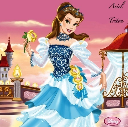 *(������� ������)* belle-stories-with-the-disney-princesses-8236638-449-445.jpg