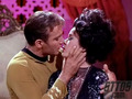 captain Kirk and Sylvia in ''Catspaw''
