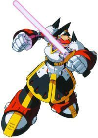 Megaman achtergrond called colonel