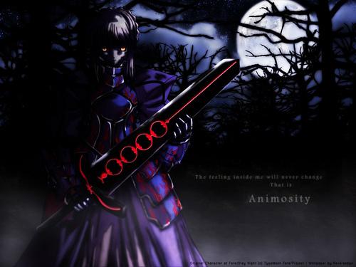 dark saber animosity