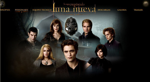 "from the new moon site ""la saga crepusculo"""