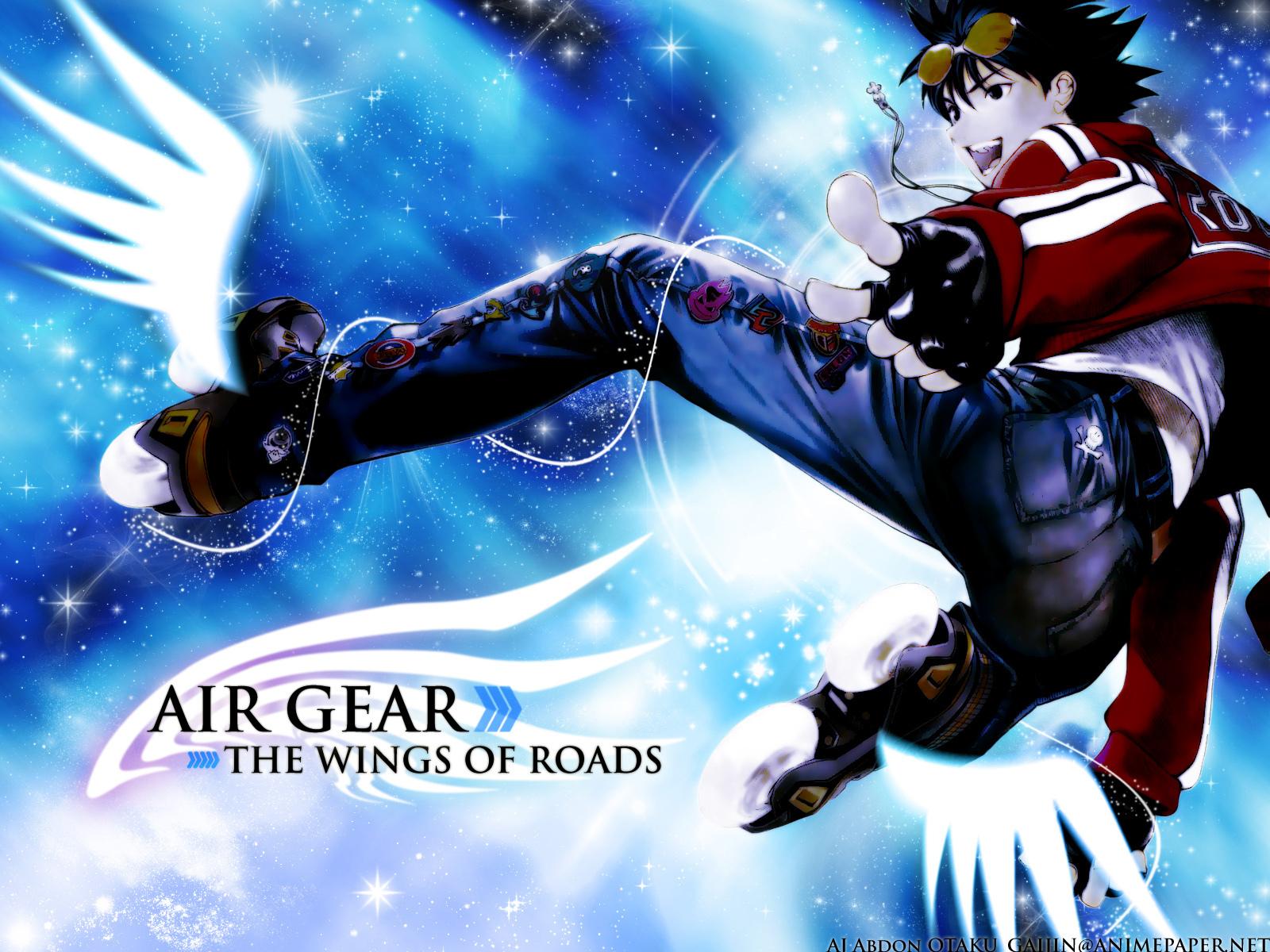 ikki air gear wallpaper 8283813 fanpop