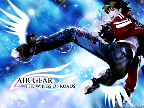 Air Gear wallpaper probably with anime titled ikki