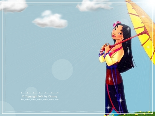 moulan - disney-princess Wallpaper