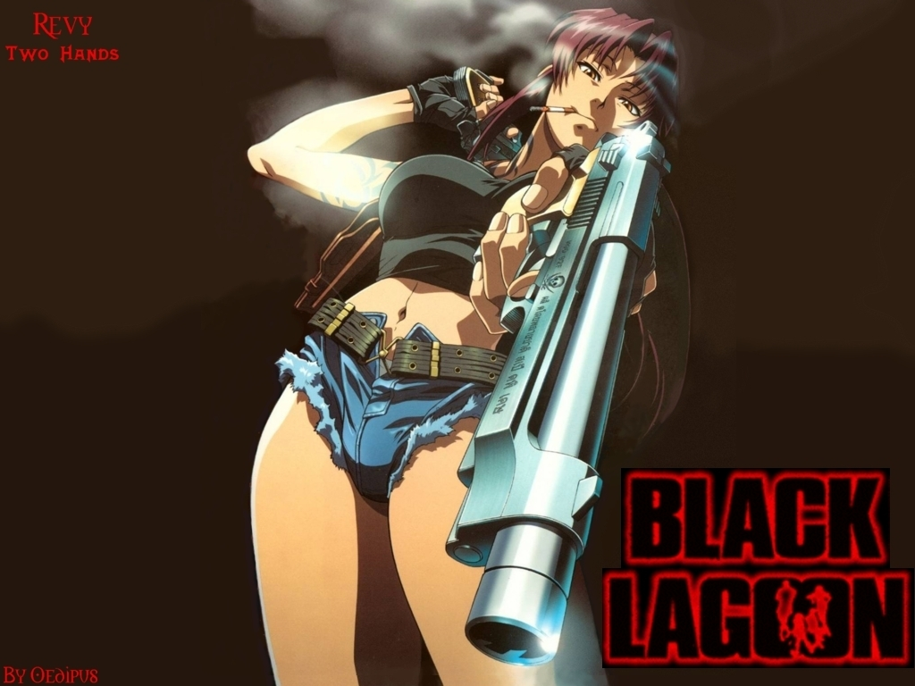 revy wallpaper - Black Lagoon 1024x768 800x600
