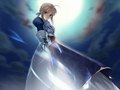 saber invisable sword - fate-stay-night wallpaper