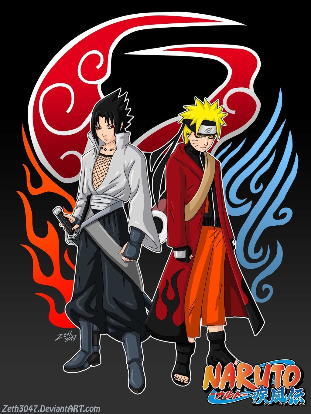 sasuke vs naruto - Sasuke vs naruto Fan Art (8205477) - Fanpop ...