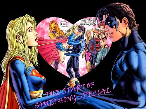 snightwing&supergirl