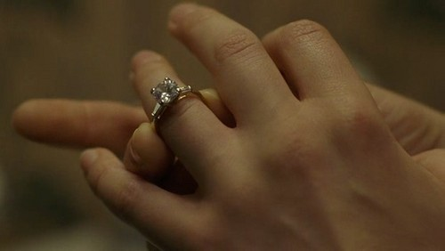 sookies engagement ring from bill....