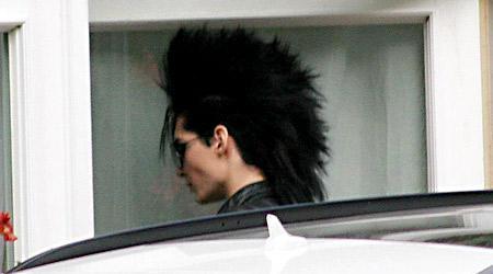 -Bill Kaulitz has a mohawk !!!!! :D
