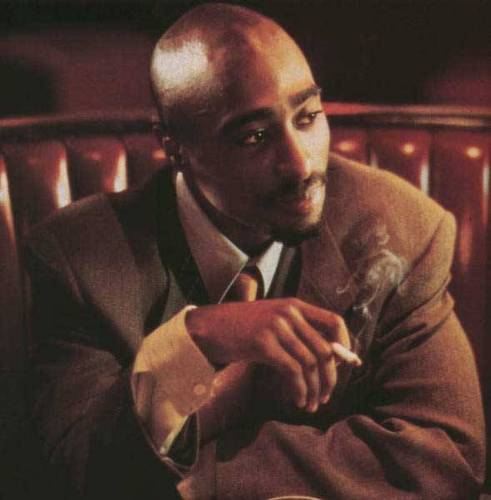 Tupac Shakur wallpaper with a business suit called 2pac