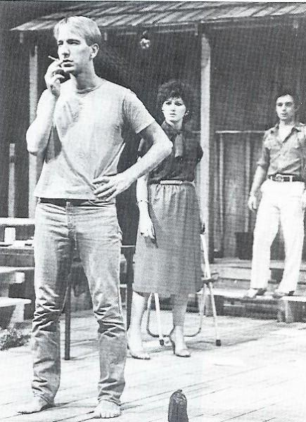 Alan on stage (1983)