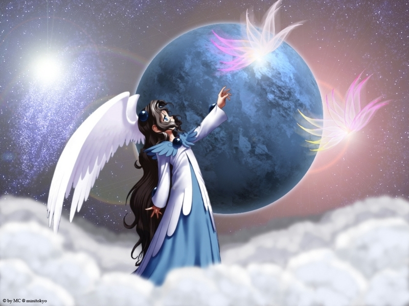 Anime Angel Wallpaper - Angels Wallpaper (8383976) - Fanpop