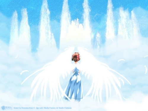 Anime Angel kertas dinding
