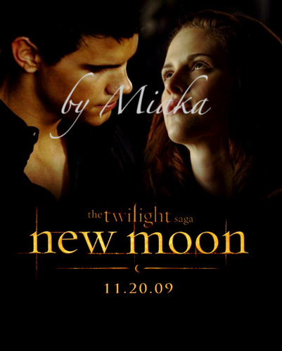 Bella & Jacob New Moon Promo
